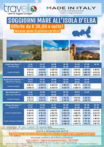 Soggiorni Mare all'isola d'Elba